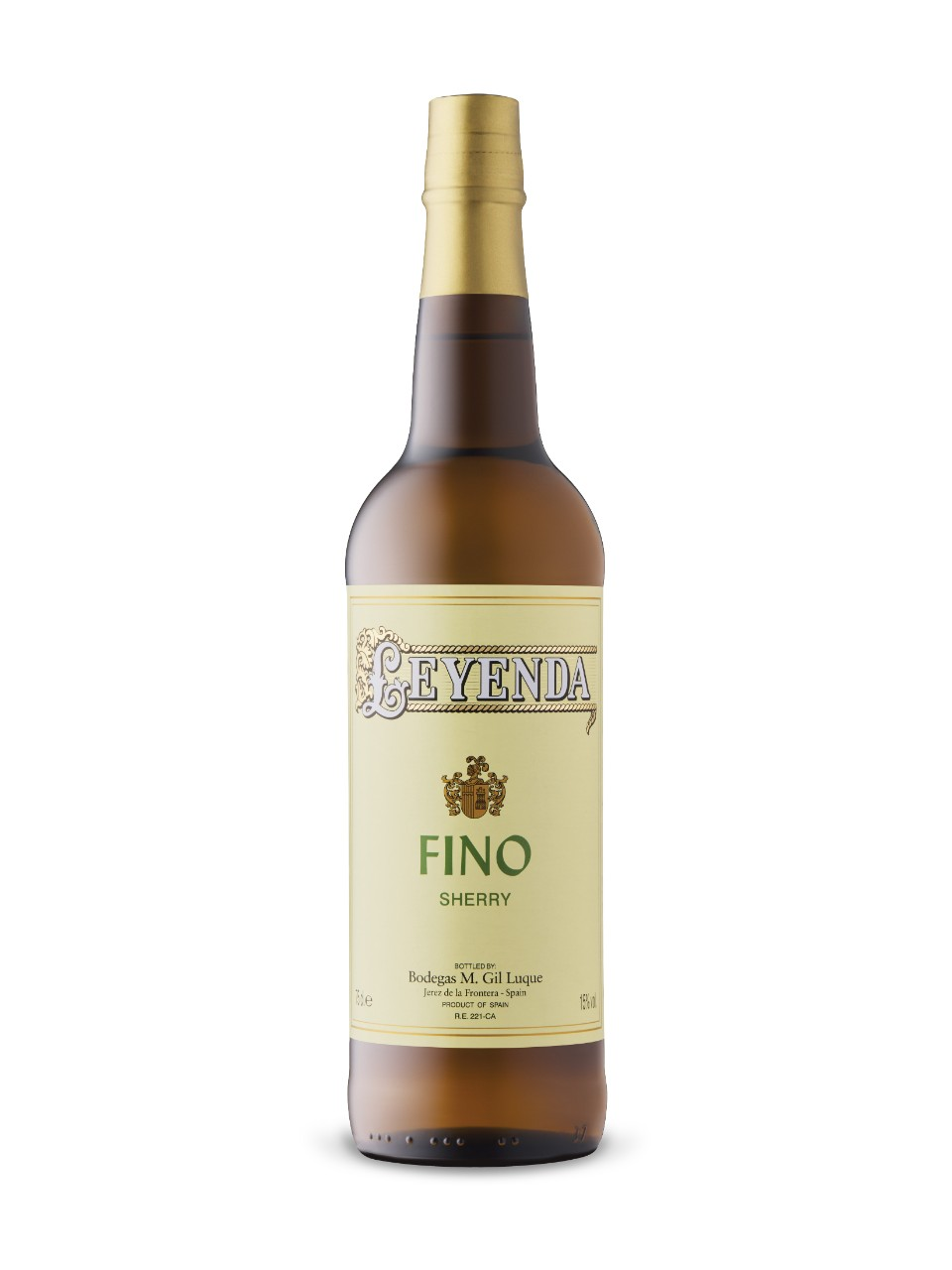 Image for Leyenda Fino Sherry from LCBO