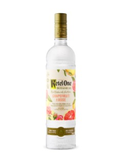 Vodka Ketel One Botanical Pamplemousse et rose