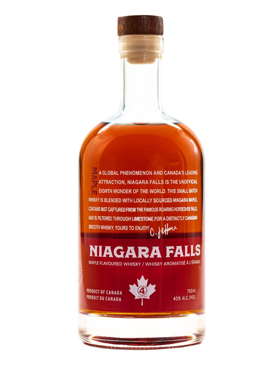 Image for Niagara Falls Canadian Maple Whisky from LCBO