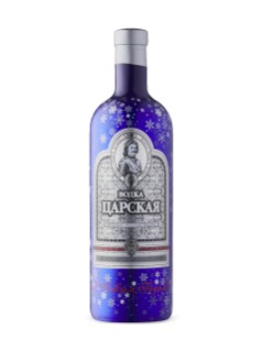 Czars Original Blue New Year Vodka