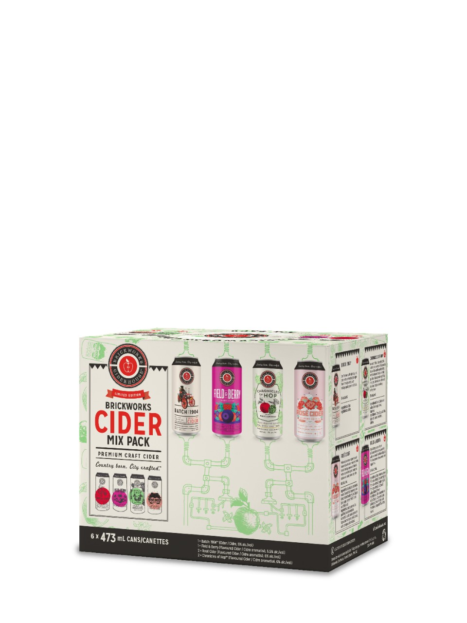 Image for Brickworks Cider Mixed Pack from LCBO