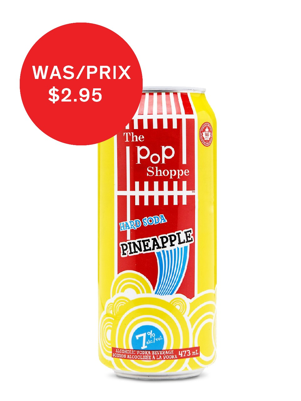 Image for Pop Shoppe Pineapple from LCBO