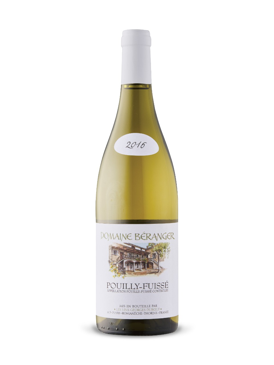 Image for Domaine Béranger Pouilly-Fuissé 2016 from LCBO