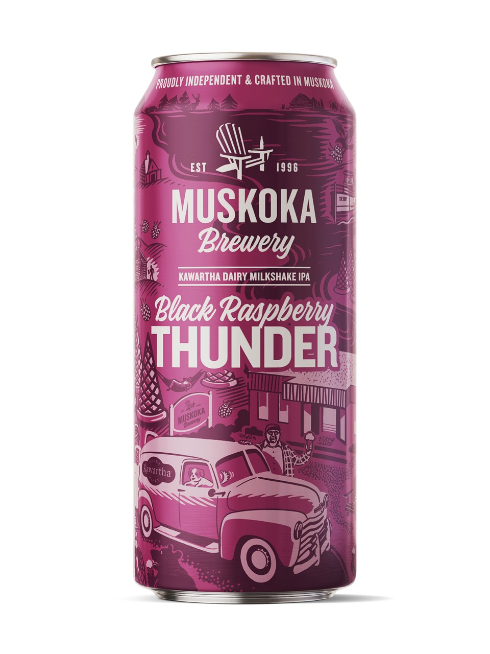 Image for Muskoka Black Raspberry Thunder from LCBO