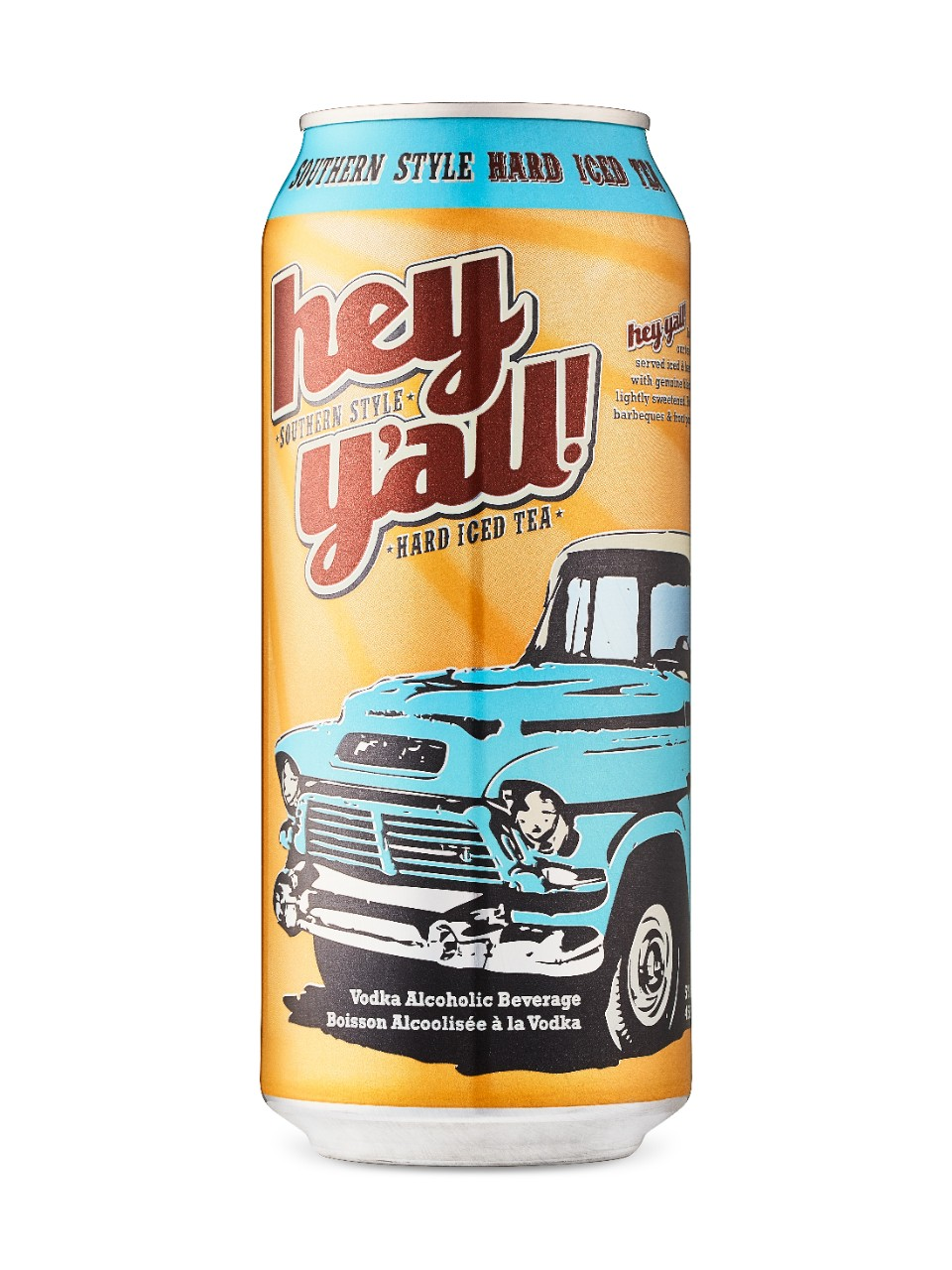 Hey Y'All Southern Style Hard Iced Tea from LCBO