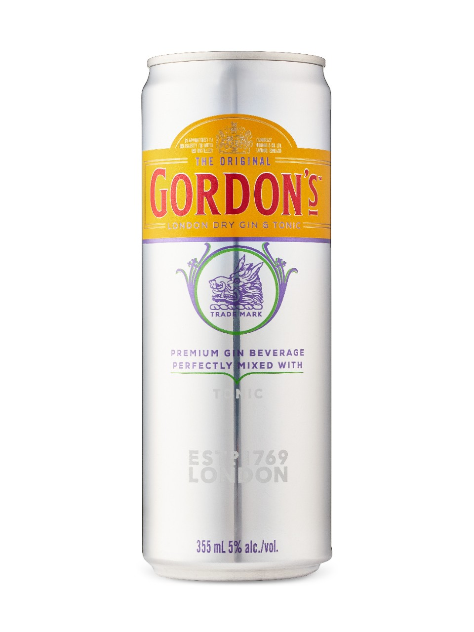Image for Gordon's London Dry Gin & Tonic from LCBO