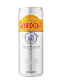 Gordon's London Dry Gin & Tonic