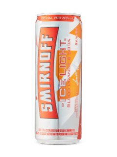 Smirnoff Ice Light Blood Orange & Soda