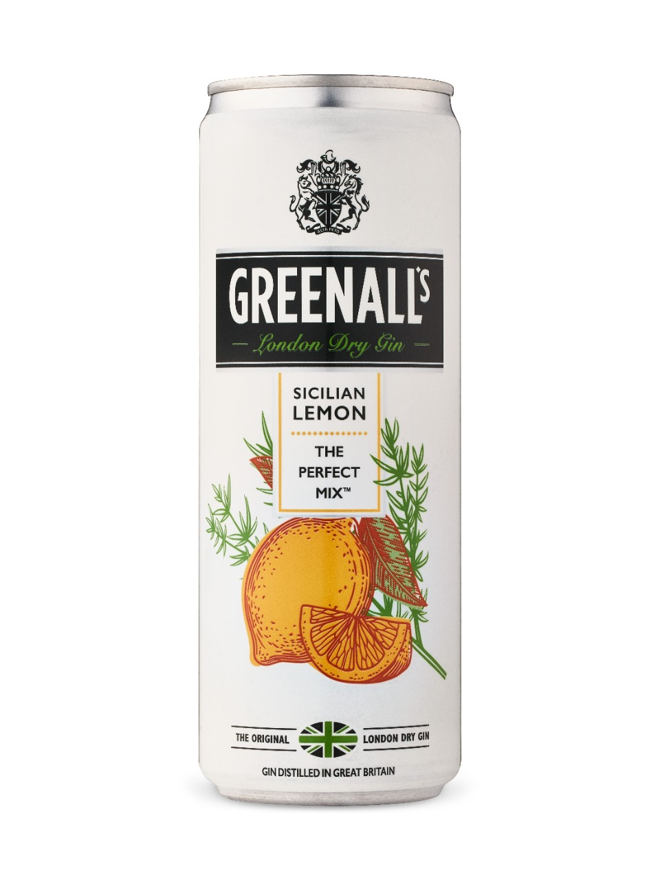 Image for G&J Greenall's Sicilian Lemon from LCBO