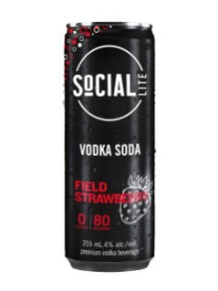 SoCIAL LITE Field Strawberry