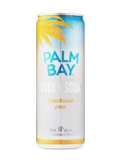 Palm Bay Vodka Soda Elderflower Pear
