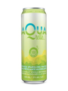 Aquarelle Lemon Lime Sparkling Vodka Soda