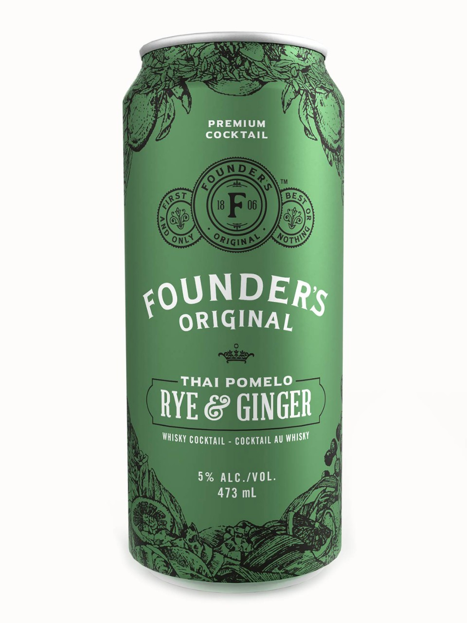 Image for Founder's Original Thai Pomelo Rye & Ginger from LCBO