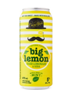 Big Lemon With A Hint Of Mint By Crazy Uncle
