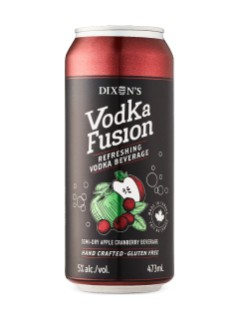 Dixon's Vodka Fusion Apple Cider