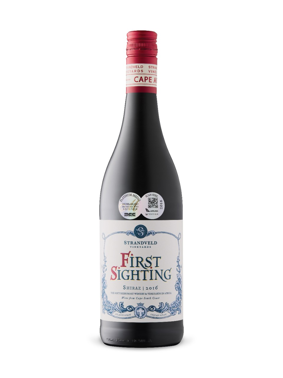 Image for Strandveld First Sighting Shiraz 2016 from LCBO