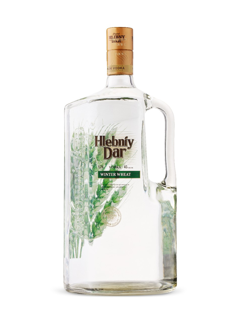Image for Hlibny Dar Winter Wheat Vodka from LCBO