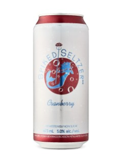 Spiked Seltzer Canneberge