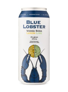 Blue Lobster Vodka Soda Lemon Lime