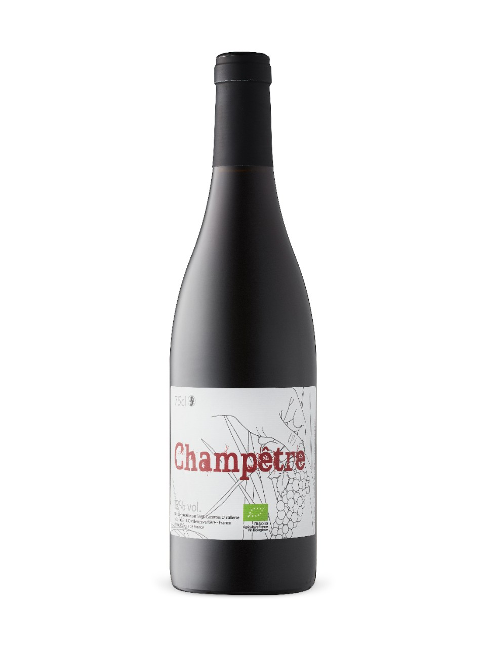 Image for Cazottes Champetre Rouge 2017 from LCBO