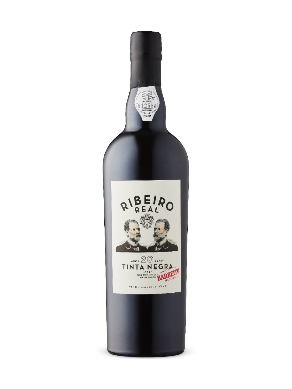 Barbeito Ribeiro Real 20 Year Old Tinta Negro Medium Sweet Madeira