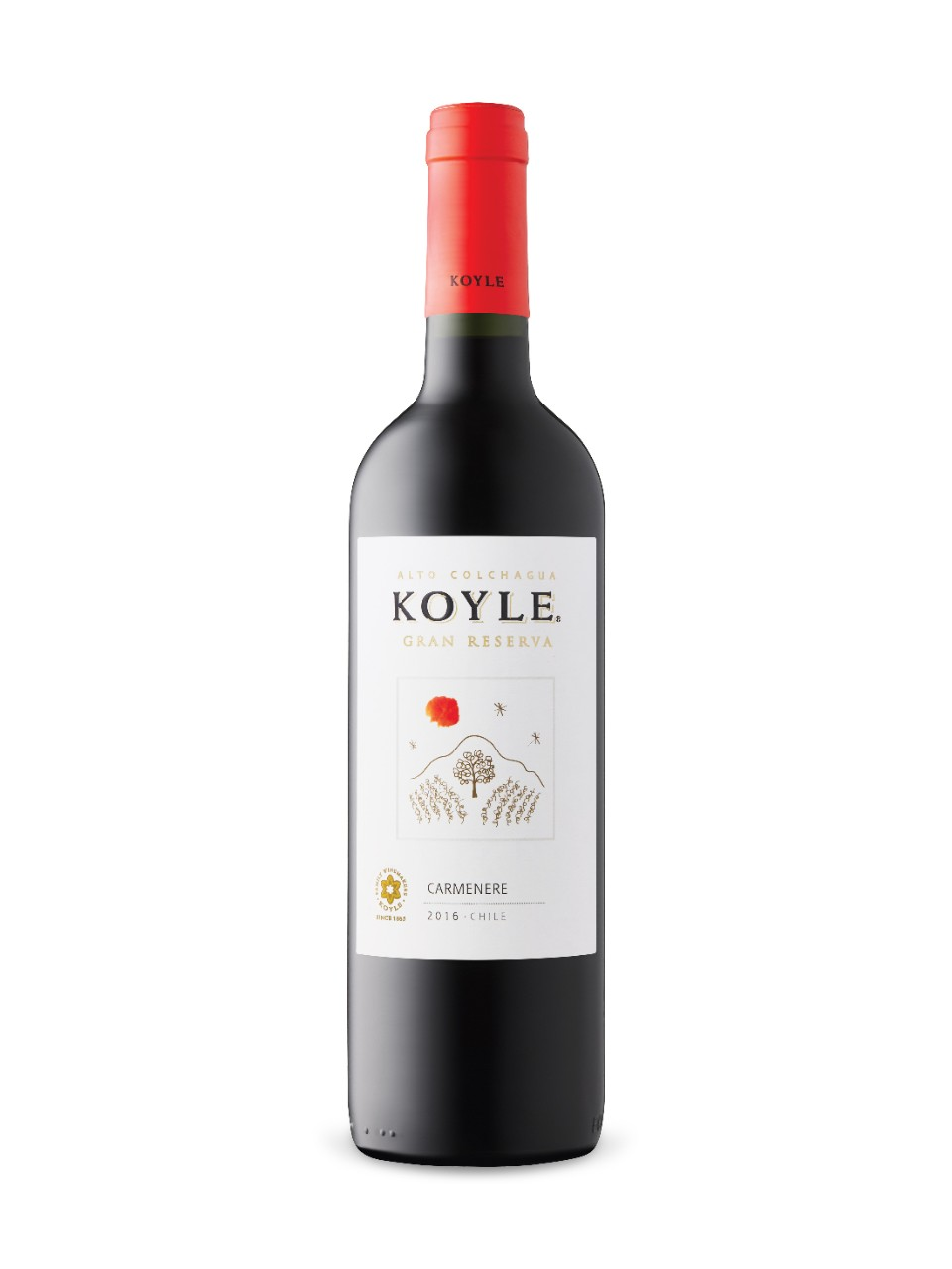 Image for Koyle Gran Reserva Carmenère 2016 from LCBO