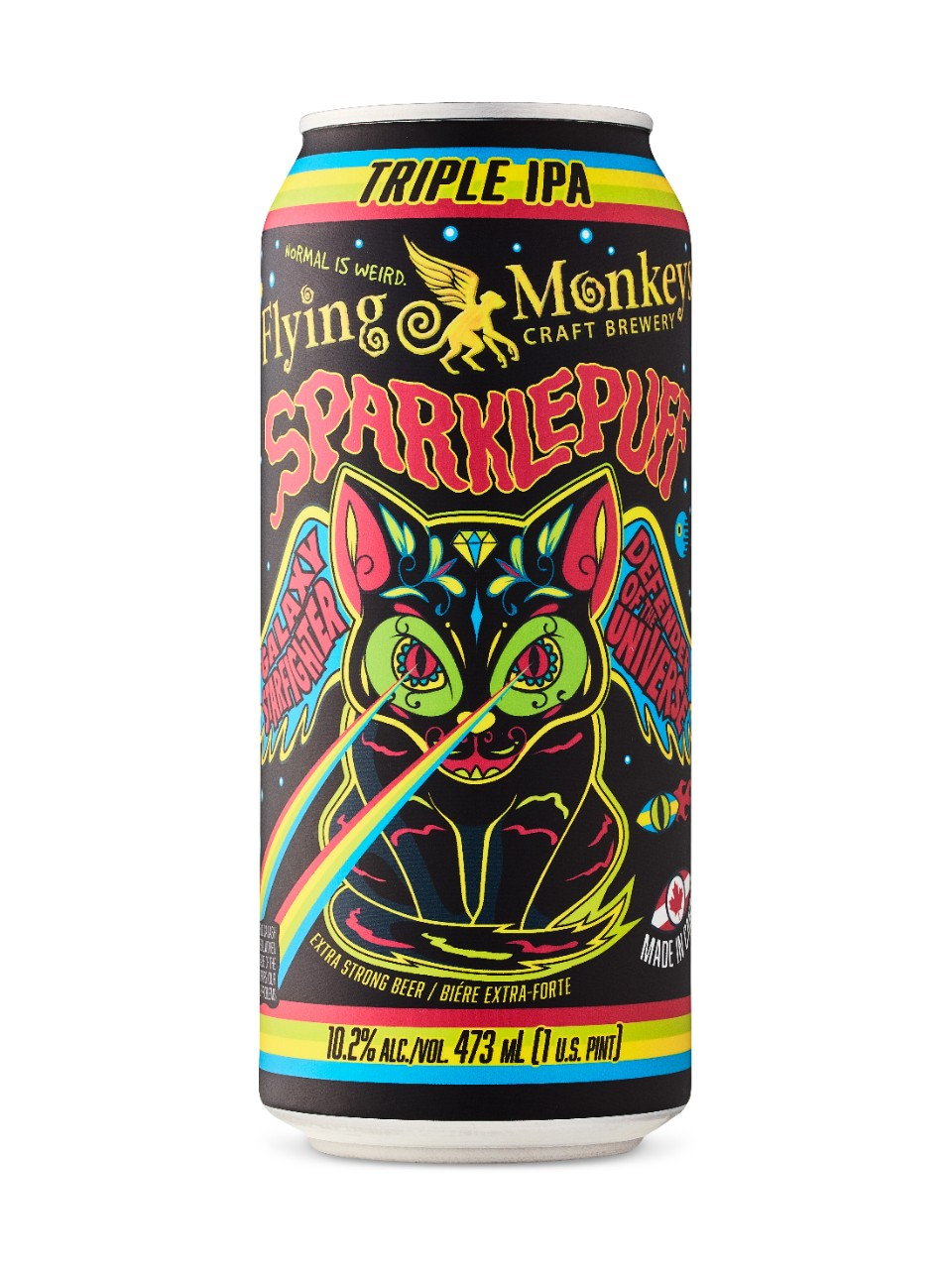 Image pour Flying Monkeys Sparklepuff Triple IPA à partir de LCBO