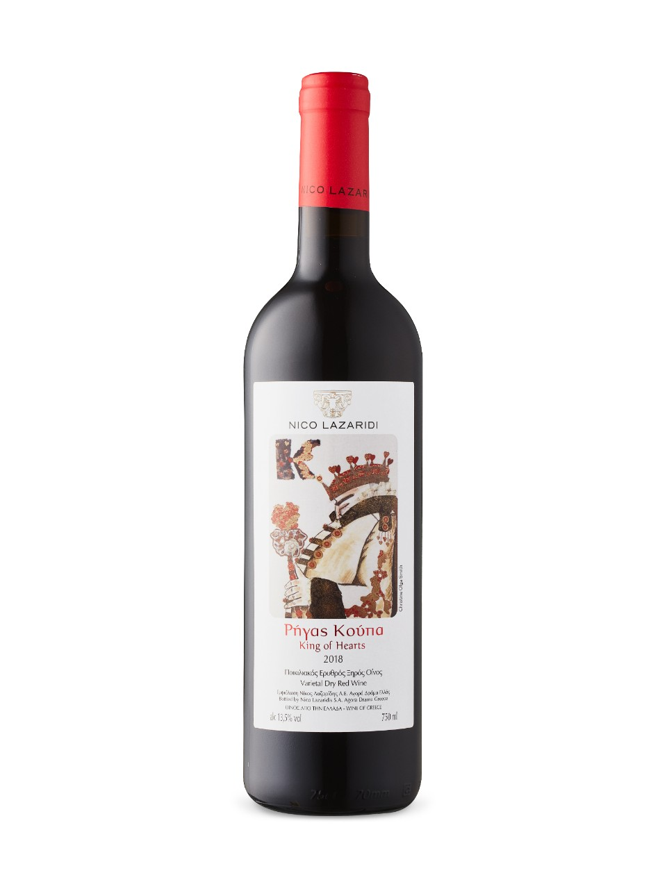 King of Hearts Red 2018 from LCBO
