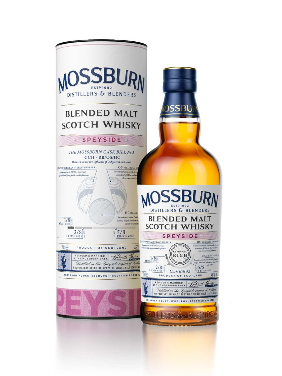 Mossburn Signature Cask Speyside Scotch Whisky from LCBO