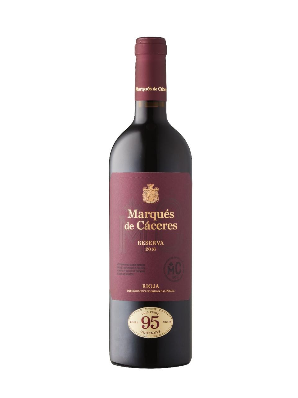 Image for Marqués de Cáceres Reserva 2014 from LCBO