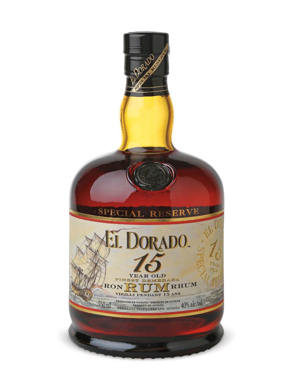 El Dorado Special Reserve 15 Year Old Rum