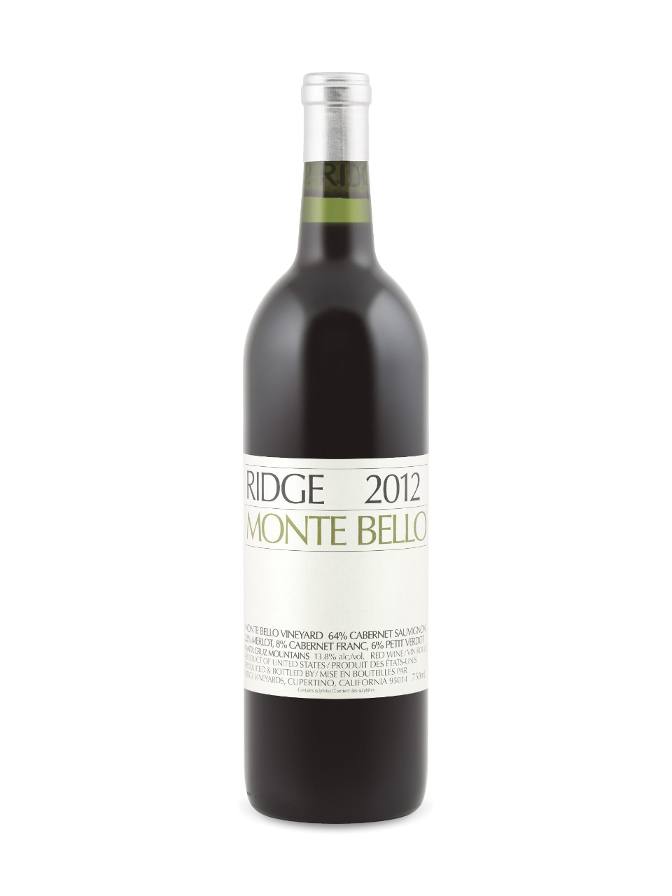 Monte Bello Ridge 2012
