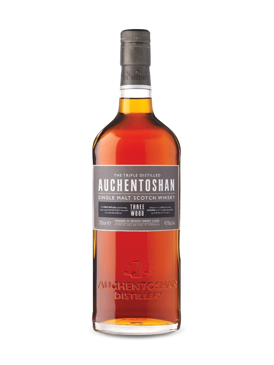Auchentoshan Three Wood Lowland Single Malt Scotch Whisky from LCBO
