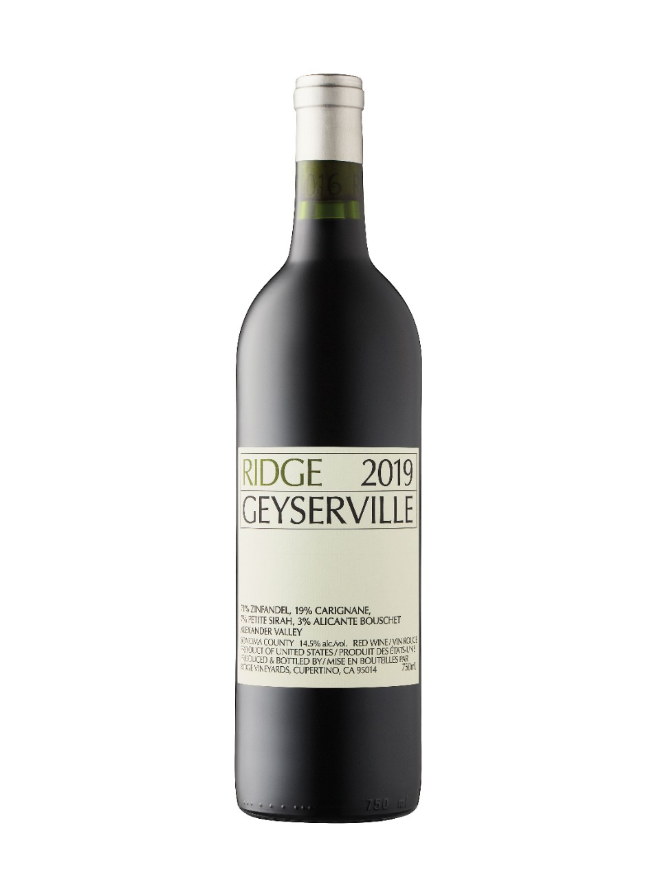 Image for Ridge Geyserville 2016 from LCBO