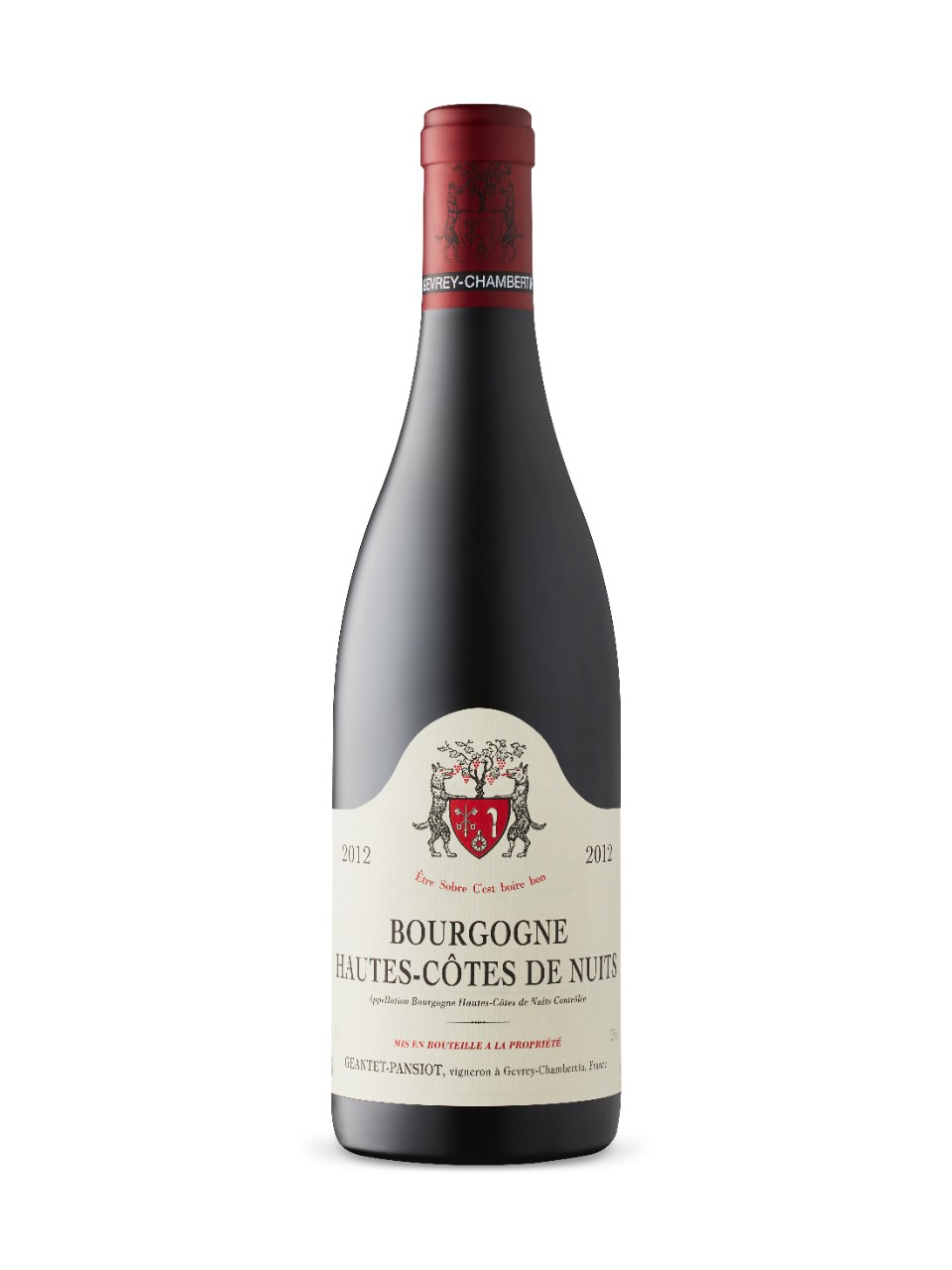 Image for Hautes Cotes de Nuits 2012 from LCBO