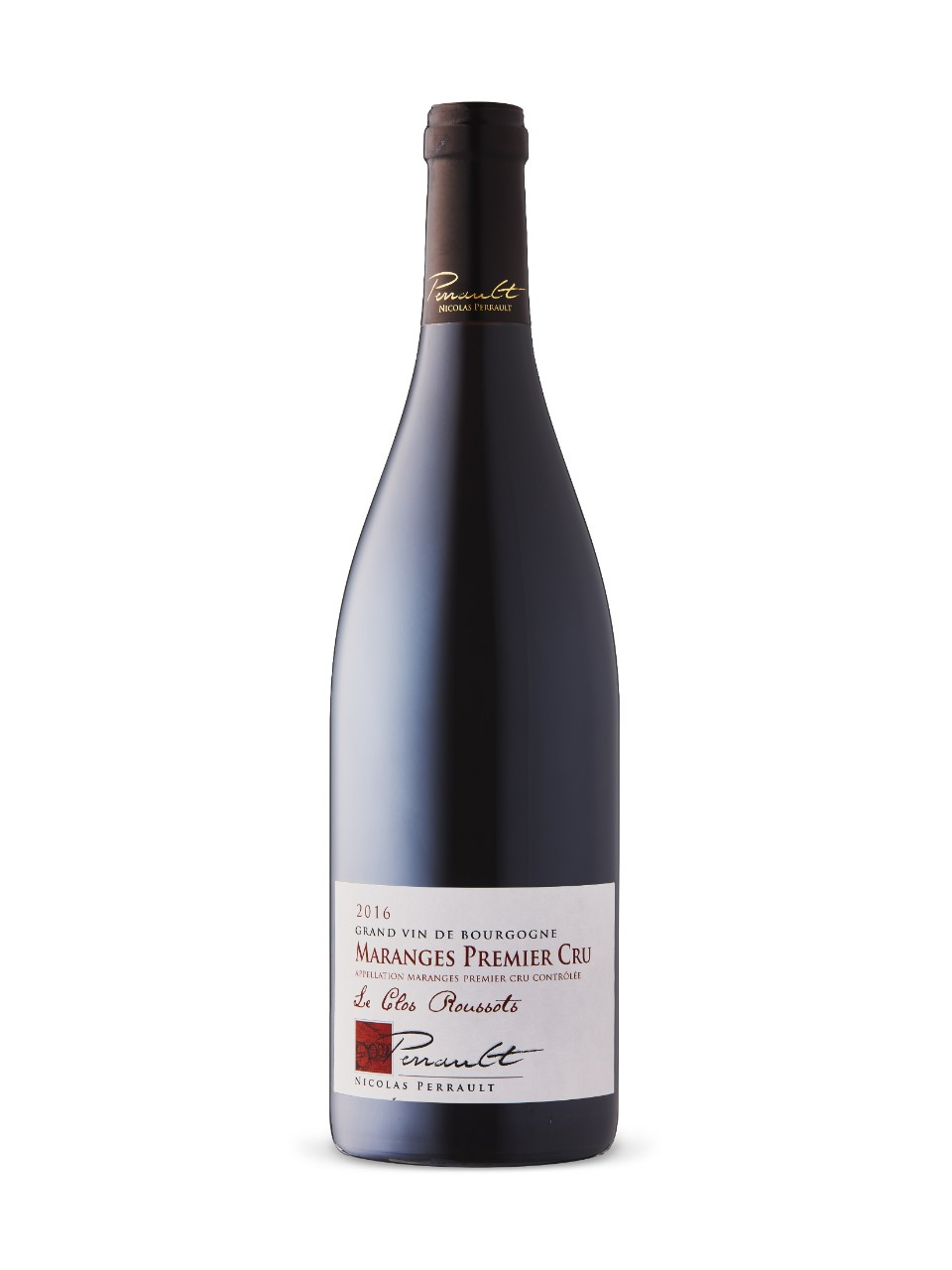 N Perrault Maranges 1er cru Rousso Organic 2016 from LCBO