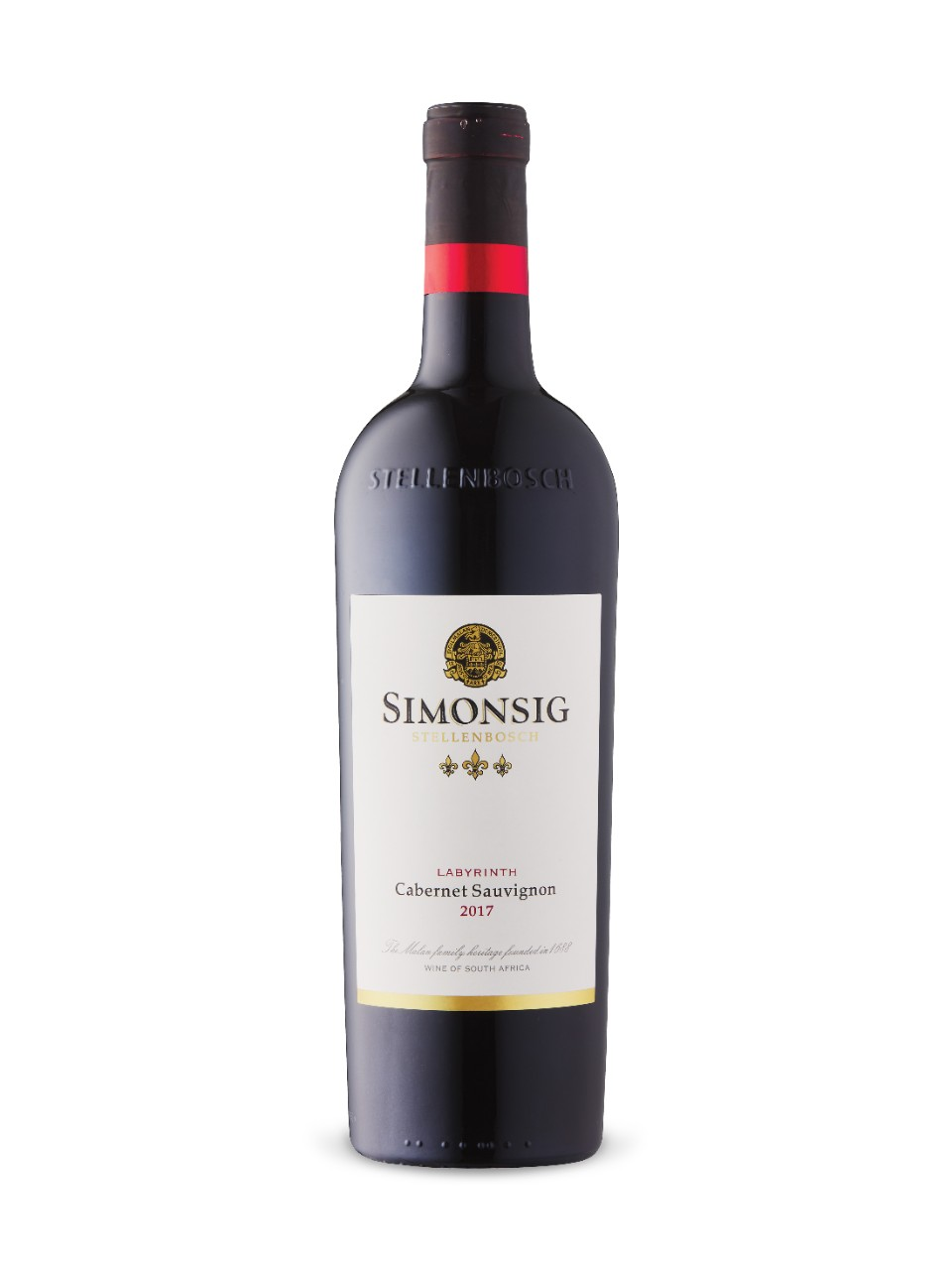 Image for Simonsig Labyrinth Cabernet Sauvignon 2017 from LCBO