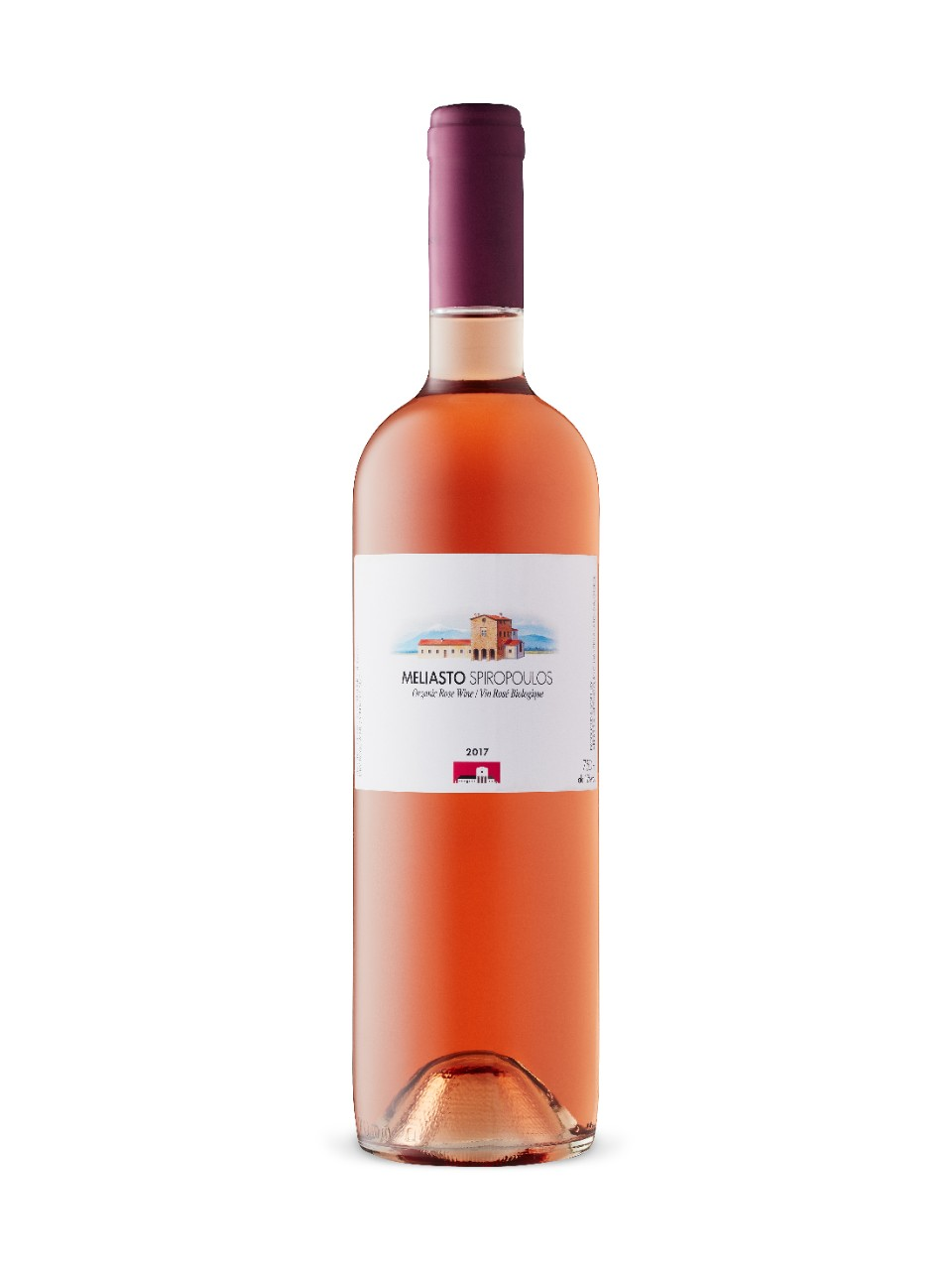 Image for Spiropoulos Meliasto Organic Rose 2017 from LCBO