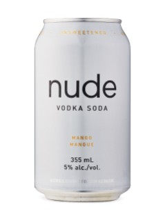 Nude Vodka Soda Mixer Pack 2x12