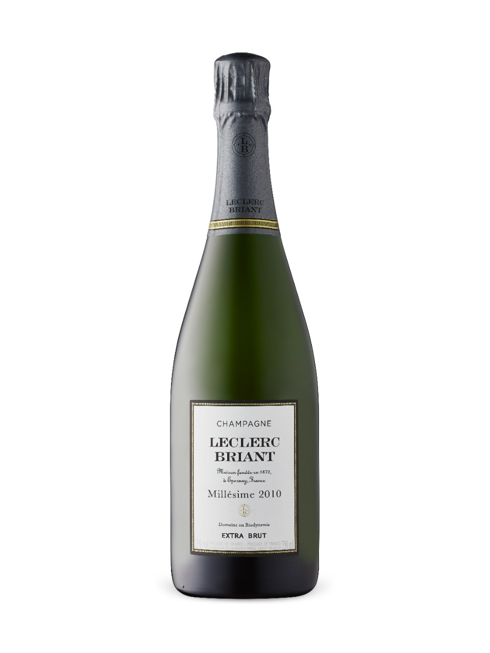 Image for LeClerc Briant Brut Vintage Organic Champagne 2010 from LCBO