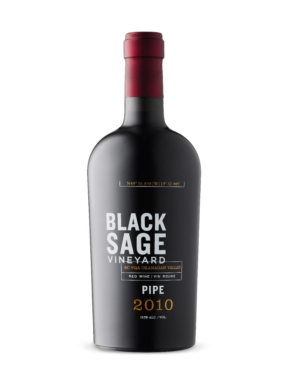 Image for Black Sage Vineyard Pipe Port-Style 2010 from LCBO