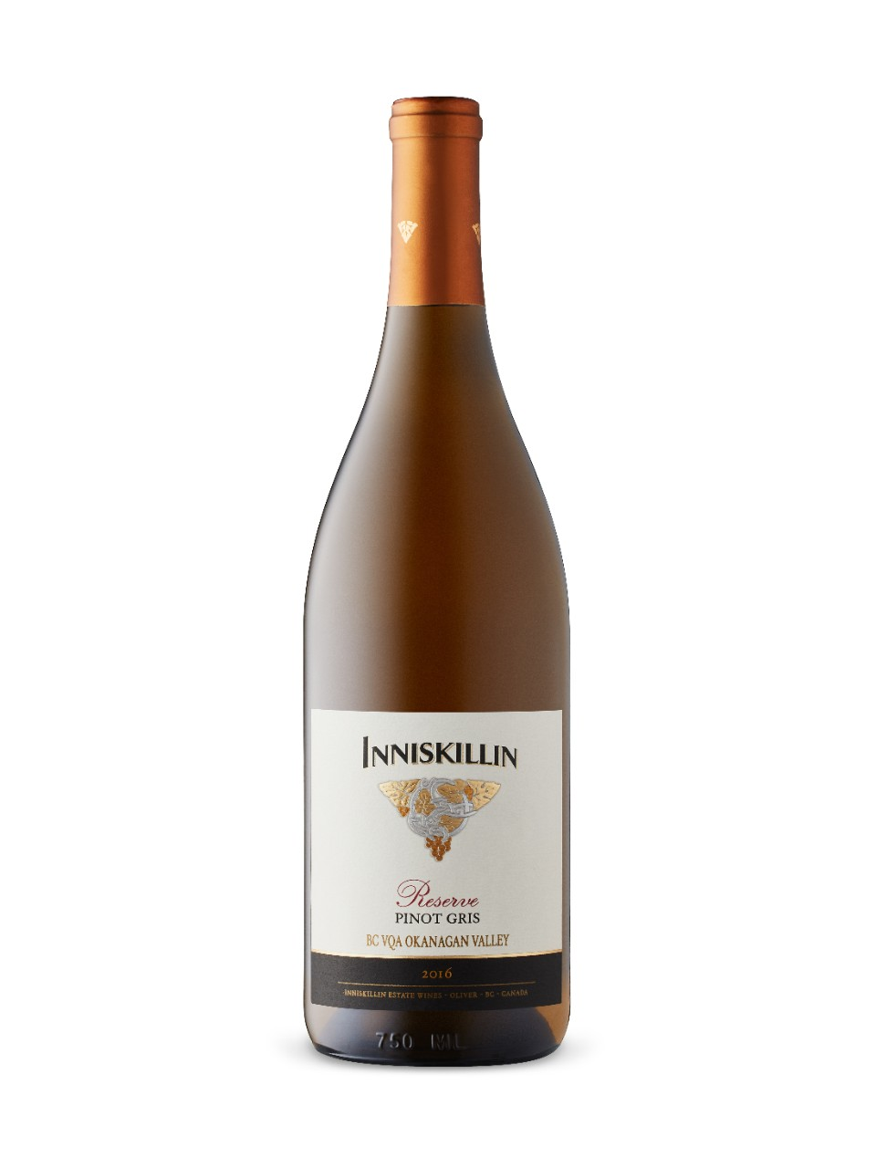 Image for Inniskillin Okanagan Reserve Pinot Gris 2016 from LCBO