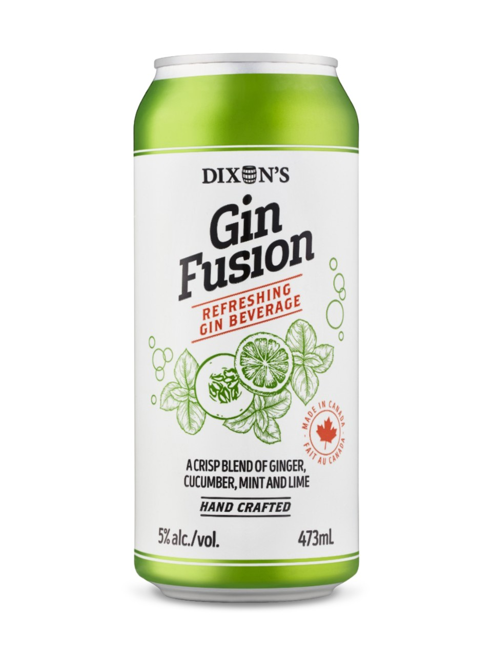Image for Gin Fusion Cucumber from LCBO