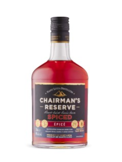 Chairmans Reserve Spiced Rum St. Lucia