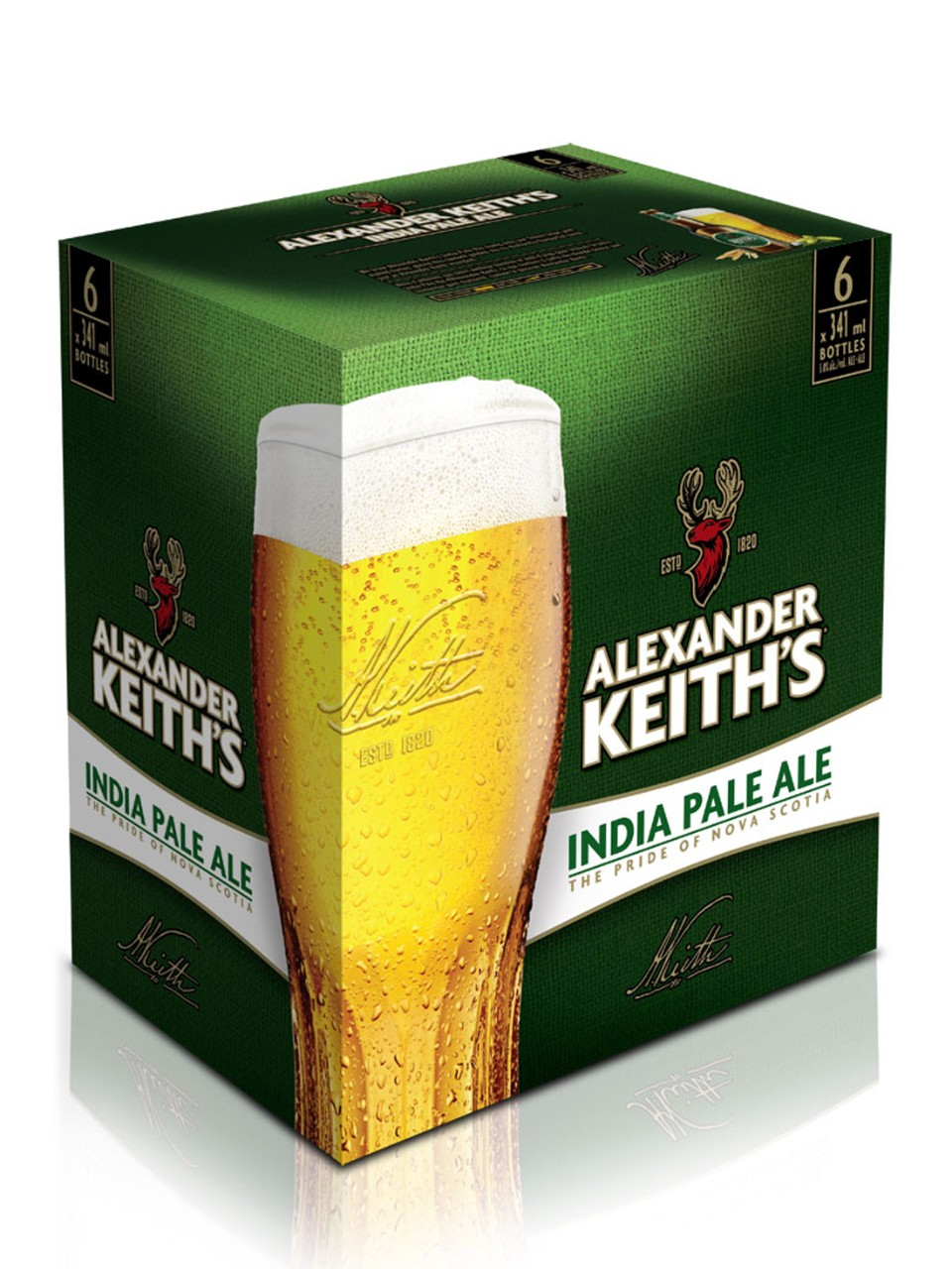 Alexander Keith's India Pale Ale                                                                                                -A