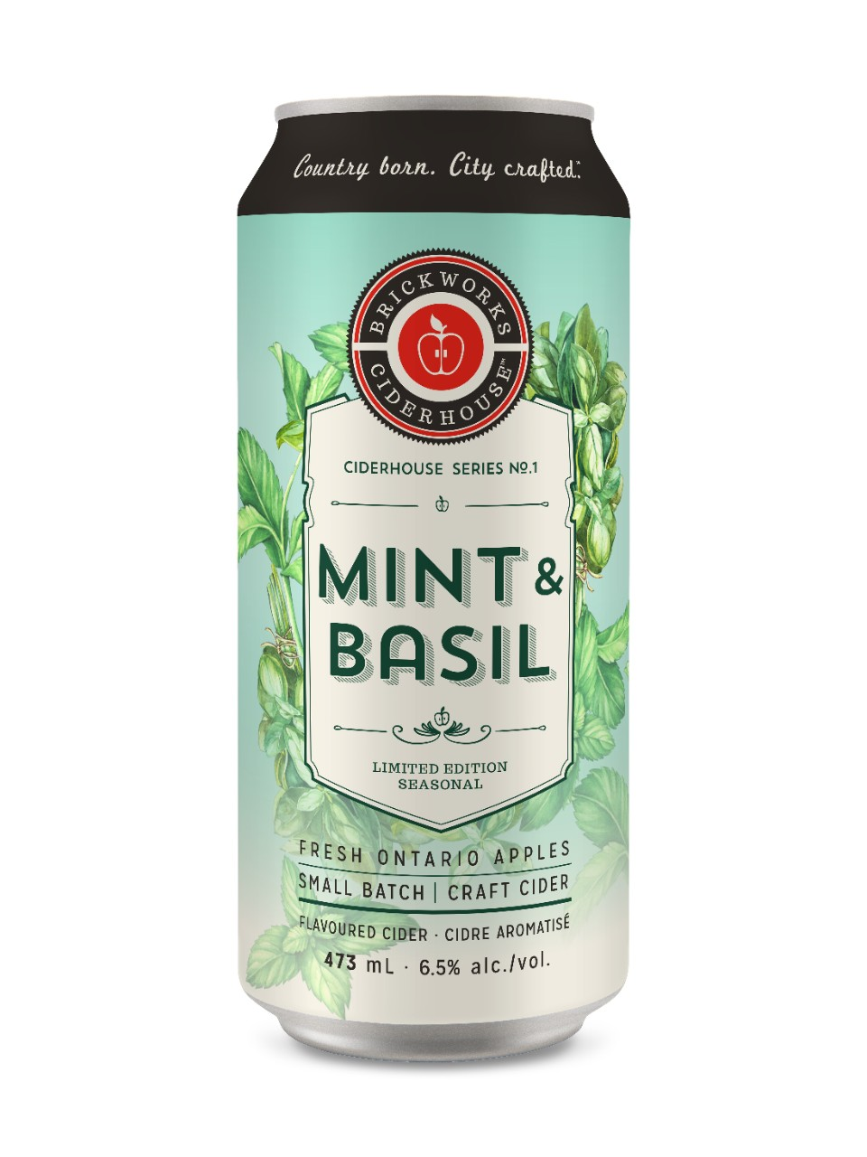 Image for Brickworks Ciderhouse Mint & Basil from LCBO
