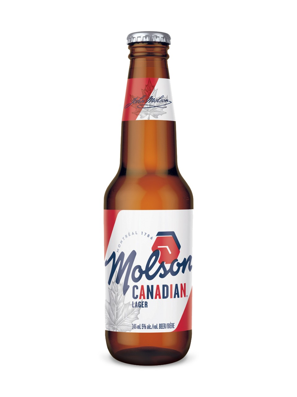 Molson Canadian Bottle Image