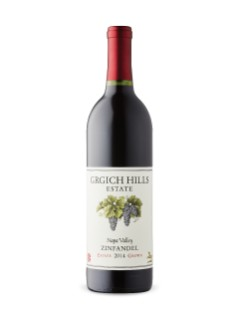 Grgich Hills Estate Grown Zinfandel 2014