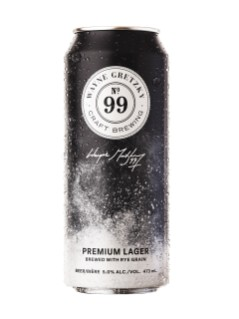 No.99 Rye Lager - Wayne Gretzky Craft Brewing