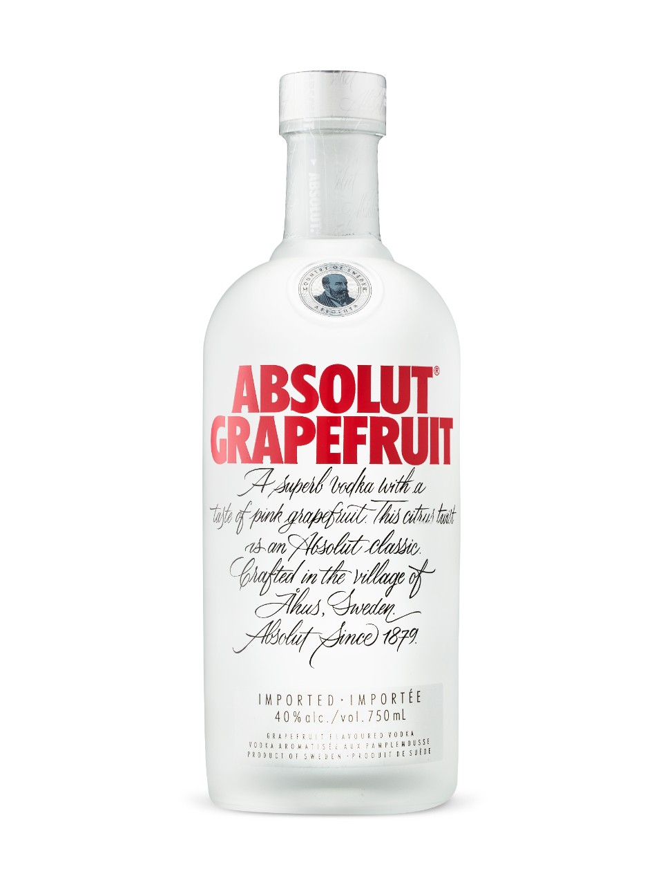 Image for Absolut Grapefruit Vodka from LCBO